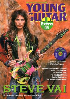 Ibanez Guitars - This Is The Article You Require About Learning Guitar Guitar Bag, Guitar Girl, Cool Guitar, Guitar Magazine, Steve Vai, Ozzy Osbourne, Ibanez, Van Halen, Musica