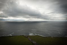 Weather front off  the Iveragh Penninsula,  looking from the Dingle Penninsula Co Kerry