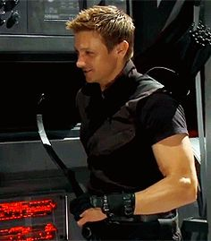 Jeremy Renner ~ Hawkeye A man with a bow...be still my heart!