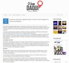 Começa a venda de ingressos para o show de Ivete Sangalo na Arena da Amazônia