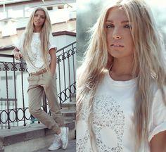 love her beautiful natural look. Камон, Бэйб (by Ekaterina Normalnaya) http://lookbook.nu/look/3633229-