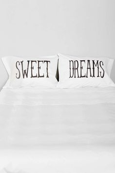 The Rise And Fall Sweet Dreams Pillowcase - Set Of 2