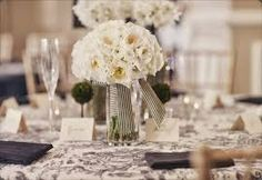 bouquets as centerpieces - Google Search