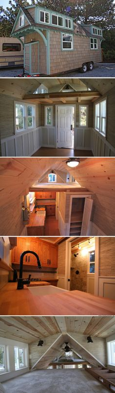 Craftsman Bungalow by Molecule Tiny Homes