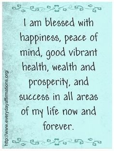 Daily Affirmations - 2 Apr 2013