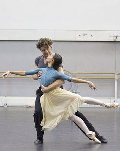 Gary Avis and Francesca Hayward Royal Ballet