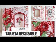 YouTube Cards Diy, Pop Up, Scrapbook Cards, Christmas Crafts, Nova, Crafty, Make It Yourself, Frame, Blog