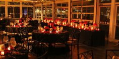 Sunset Terrace at Chelsea Piers @ New York NY | Max Capacity: 130 | Beautiful Wedding Receptions | Best New York Wedding Venues | Candlelit Inspiration #weddingspot #wedding #planning #ideas