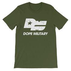"Dope Military ""Graffiti White"" T-Shirt"