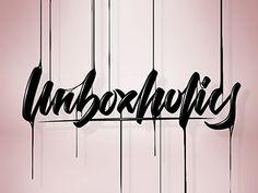 Unboxholics by Angelo Konofaos (Knf) Lettering Design, Fan, Celebrities, Christmas, Xmas, Celebs, Navidad, Hand Fan, Noel