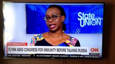 """Nina Turner curses live on CNN.  Saying """"lord Jesus Christ! """".  Nina Is Sick & Tired Of Hearing About Russia AND SO ARE WE. I Love Nina Turner. LOVE."""
