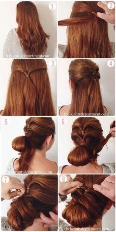 Glamorous Hairstyle Tutorial