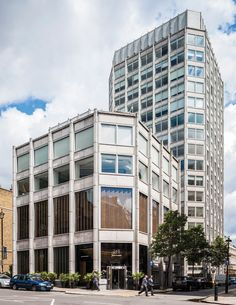 Tom Grieve & Hana Loftus' inspiration: the Smithsons' Economist Plaza. Photo: Gareth Gardner