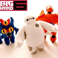 Дешевое В наличии бесплатная доставка 40 см 15.7 '' большой размер большой герой 6 робот Baymax плюшевые куклы и игрушки, Купить Качество Куклы непосредственно из китайских фирмах-поставщиках:    Низкие цены, лучшее качество!                                 Бесплатная доставка!