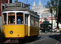 Lisbon again... I have never been on a Tram yet I love them!
