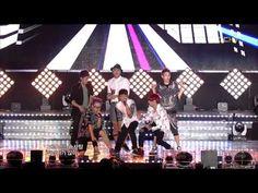120728 BEAST - It's Not Me & Beautiful Night @ MBC Music Core Comeback Stage
