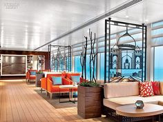 Shore to Ship: Welcome Aboard the Viking Star Cruise Liner by Rottet Studio | Projects | Interior Design