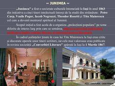 """~ JUNIMEA ~ <ul><li>"""" Junimea""""  a fost o societate culturală întemeiată la  Iaşi  în anul  1863  din iniţiativa a  cinci  ... Desktop Screenshot"""