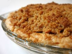 Apple Pie with Brown Sugar Streusel Topping  Date Made: (pending)  Rating: (pending)