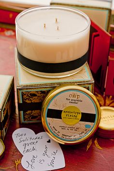 Objects With Purpose 3-Wick Candle - Wear it as a solid perfume, massage it into your body, or simply use it like a candle!