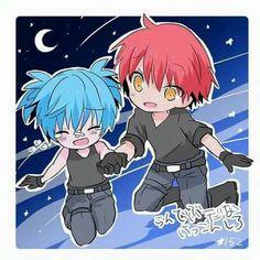 Nagisa x Karma Anime Eyes, Anime Manga, Nagisa And Karma, Nagisa Shiota, Fanart, Akakuro, Wattpad, Anime Ships, Couple
