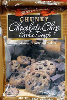 Love this stuff, Trader Joe's Chunky Chocolate Chip Cookie Dough!