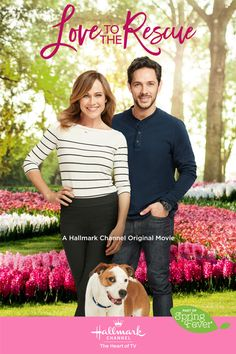 "Its a Wonderful Movie - Your Guide to Family and Christmas Movies on TV: 🐕 Love to the Rescue 🐕 - a Hallmark Channel ""Spring Fever"" Movie starring Nikki DeLoach & Michael Rady!"