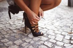 sexy black #heels