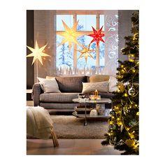 STRÅLA Dekoleuchte IKEA Leuchtdioden verbrauchen ca. 85 % weniger Energie und halten 20-mal länger als Glühlampen.