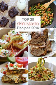 Top 25 Most Popular Skinnytaste Recipes 2014 @FoodBlogs