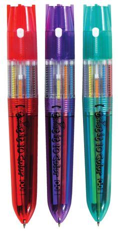 Twist It 10 Color Pen