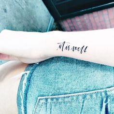 It's Lena Time Blog  tattoo minimalist tattoo christian tattoo handlettering