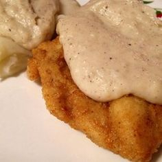 Old Time Kentucky Bacon Milk Gravy for Biscuits - Allrecipes.com I can remember my Grandma making this.