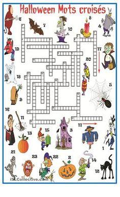 Ideenreise: Arbeitsblatt mit Einfärbeübungen zu Halloween | english ...
