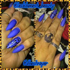 ‪#‎latepost‬. Not sure from when but not to long ago.... ‪#‎longnails‬ ‪#‎stilletonails‬ ‪#‎matte‬‪#‎sinfulcolors‬ ‪#‎endlessblue‬ ‪#‎handpainted‬‪#‎mylife‬ ‪#‎mywork‬ ‪#‎myart‬ ‪#‎ilovewhatido‬