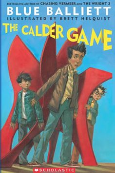 The Calder Game by Blue Balliett is a book that centers around the artist, Alexander Calder. Read for inspiration for your fifth grade artist report.