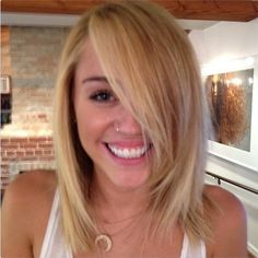 Miley Cyrus (love this hair)