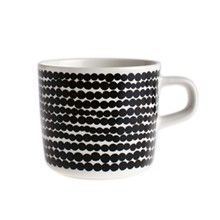 Siirtolapuutarha kaffekopp 20 cl, Vit/Svart