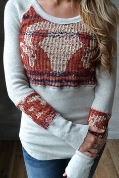 Piace Boutique - Free People Bambi Swit Thermal, $98.00 (http://www.piaceboutique.com/free-people-bambi-swit-thermal/)