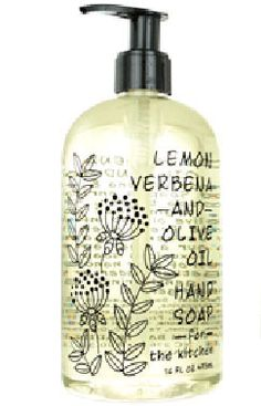 Lemon Verbena Olive Oil Liquid Hand Soap by Greenwich Bay Trading Co