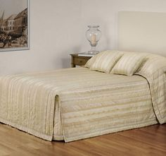 The Milano Bedspread Set Range Coffee from Bianca is made from polyester fill and jacquard process giving you the finest product. Quilted Bedspreads, Quilt Cover Sets, Stripes Design, Wool Blanket, Bed Spreads, Linen Bedding, Bed Sheets, Quilts, Pillows