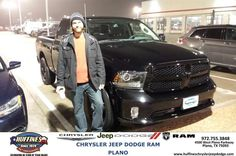 Congratulations to Lester Fichtner on your #Ram #1500 purchase from Ruben Perez at Huffines Chrysler Jeep Dodge RAM Plano! #NewCar