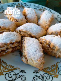 Apple Roll Cookies - leckere Rezepte - # 4613063 - Yemek Tarifleri - Resimli ve Videolu Yemek Tarifleri Best Cake Recipes, Banana Bread Recipes, Cookie Recipes, Yummy Recipes, Roll Cookies, Sweet Cookies, Apple Cookies, Low Fat Cake, Caramel Cookies