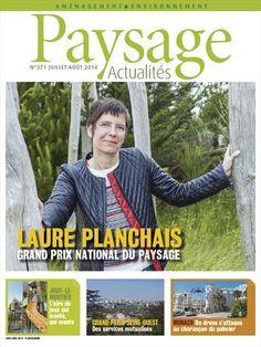 Laure Planchais -  Paysage Actualités - Juillet/Août 2014 - Numéro 371