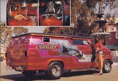 """""""Warlock"""" custom 70's show van"""