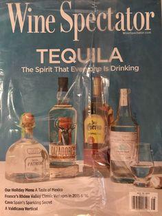 Wine Spectator Magazine November 30 2017 Tequila HOLIDAY MENU MEXICO  | eBay