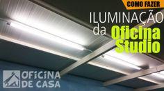 Iluminação da Oficina Studio