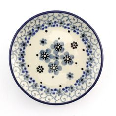 Sweet little plate by Polish Pottery :-) http://slavicapottery.com