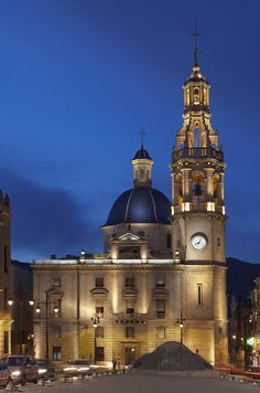 La Iglesia de Santa María se construyó a mediados del siglo XVIII, de estilo barroco, y fue destruido durante la Guerra Civil. #Alcoy #Alcoi #iglesias