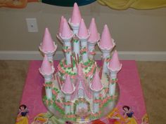 Princess Castle Cake What a Talented person! WOW